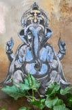 Бог Ganesha слона граффити Стоковая Фотография