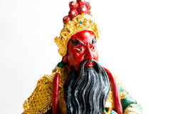 Бог Guan Yu стоковое изображение rf