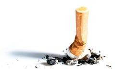 бодает v1 выраженное сигаретой Стоковая Фотография