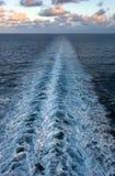 бодрствование океана Стоковое Изображение RF