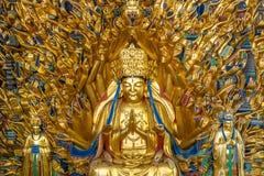 Бодхисаттва guanyin тысячи рук стоковые фотографии rf
