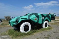 Боевая машина пехоты Военное транспортное средство для солдат на поле брани Стоковые Фотографии RF