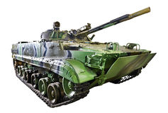 Боевая машина BMP-3 пехоты Стоковое Фото