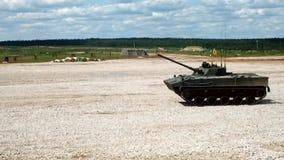 Боевая машина BMP-3 пехоты видеоматериал