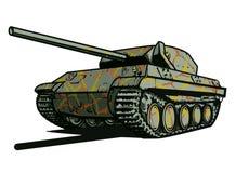 Боевой танк иллюстрация штока