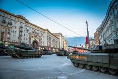 Боевой танк Armata T-14 главный русский Стоковое фото RF