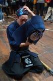Боевые искусства †Kendo «японские Стоковая Фотография RF