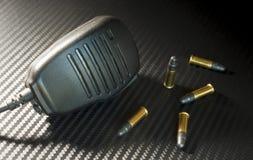 Боеприпасы и микрофон Стоковые Изображения RF