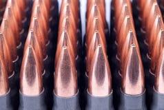 Боеприпасы для винтовки Стоковая Фотография