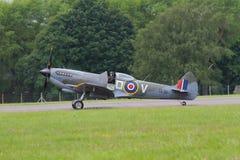 Боец Spitfire WW2 Стоковое Фото