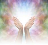 Божественная заживление энергия стоковые изображения