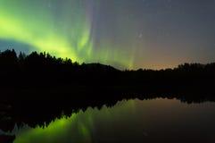 Божественное озеро затишья пейзажа Стоковое фото RF