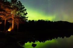 Божественное озеро затишья пейзажа Стоковое Изображение