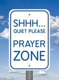 Божественный знак, зона молитве стоковое изображение rf