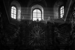 божественный свет Стоковая Фотография