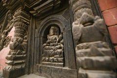 Божество высекаенное рукой индусское Стоковая Фотография