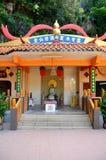 Божество на виске Ipoh Малайзии пещеры сенатора Схвата Taoist Ling Стоковые Фотографии RF