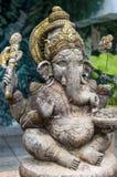 Божество Ganesh давая благословения Стоковое Фото