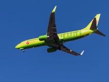 Боинг 737-800, авиакомпании Sibir S7 Стоковое Фото