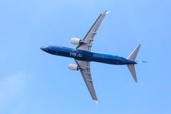 Боинг 737-9 Макс стоковая фотография