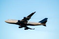 400 747 Боинг Стоковые Фотографии RF