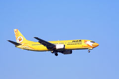 Боинг 737-400, nokair стоковое фото rf