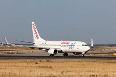 Боинг 737-800 Air Europa Стоковое фото RF