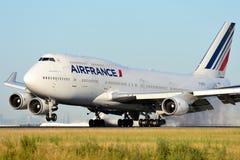 Боинг 747 Air France Стоковое Изображение