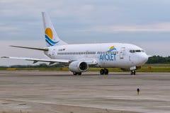 Боинг 737 Aviolet Стоковые Изображения