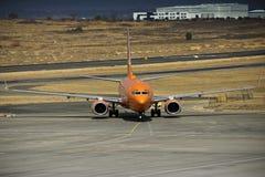 Боинг 737-8BG - ZS-SJO стоковое изображение
