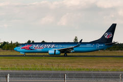 Боинг 737-86Q Стоковые Изображения RF