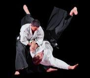 2 бойца боевых искусств Стоковое Изображение