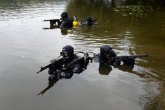 Бойцы тренировки в Москве Стоковое Изображение