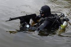 Бойцы тренировки в Москве Стоковое фото RF
