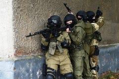 Бойцы тренировки в Москве Стоковое Изображение RF