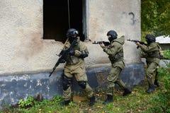 Бойцы тренировки в Москве Стоковые Изображения RF