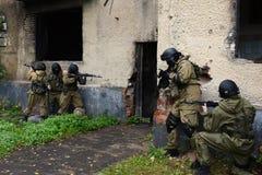 Бойцы тренировки в Москве Стоковая Фотография RF