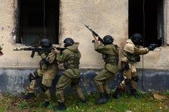 Бойцы тренировки в Москве Стоковые Фотографии RF