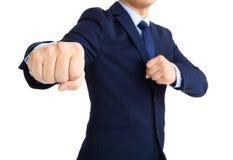 Бой бизнесмена Стоковое Фото