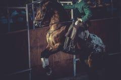 Бой быков, традиционная испанская партия где матадор воюя a Стоковая Фотография RF