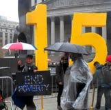 Бой на национальный праздник $15 Действи-нового города Йорка Стоковая Фотография