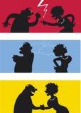 бой пар бесплатная иллюстрация
