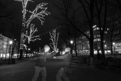 Бой призраков Стоковое Фото