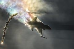 16 бой сокола f стоковое изображение rf