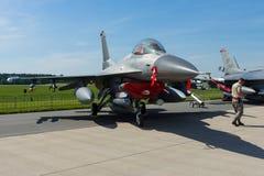 16 бой Lockheed Martin сокола f Стоковая Фотография RF