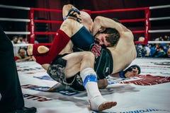 2 бой Muttahida Majlis-E-Amal спортсменов земных Стоковая Фотография