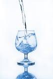 Бокал с водой Стоковое фото RF