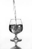 Бокал с водой Стоковое Изображение RF