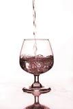 Бокал с водой Стоковые Изображения RF
