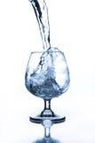 Бокал с водой Стоковая Фотография